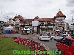 Pair with feet: Oktoberfest Blumenau - Oktorberfest - Blumenau - SC - . October Festival, Scp, Mansions, House Styles, Flower, Home, Couple, Cities, Pictures