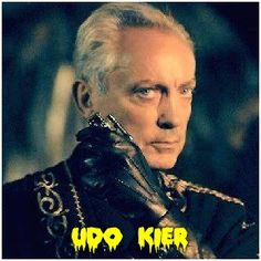 "Udo Kier at Son of Monsterpalooza Sept 2015 Monsterpalooza.com ""MARK OF THE DEVIL, SUSPIRIA,  FLESH FOR FRANKENSTEIN,  SHADOW OF THE VAMPIRE, BLADE"""