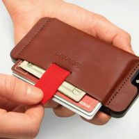 Wally iPhone Wallet | Cool Material