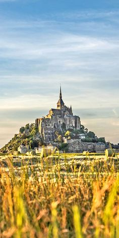 History buffs will love this road trip through medieval castles and World War 2 sites in Normandy and the Loire Valley. Visit the historic Omaha Beach, then head to the impressive Mont Saint-Michel, an island commune perched on a rocky peak. Click through Road Trip France, Road Trip Europe, Travel Tips For Europe, World Travel Guide, Europe Destinations, France Travel, Travel Guides, Road Trips, Strasbourg