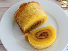 Gâteau roulé à l'orange portugais - Torta de laranja, photo 3
