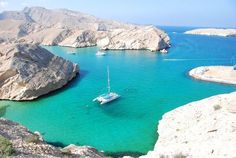 Muscat, Oman Bandar Kharan - a wonderful place for boating.