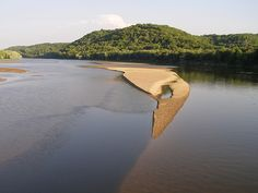 Sandbars along the Lower Wisconsin River - check it out with http://TheBestCanoeCompanyEver.com