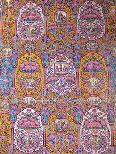 ♥ Closeup from Nasir-ol-Molk mosque, Shiraz - IRAN