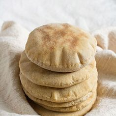 the best whole wheat pita bread - 2 ways: oven baked and stove top method, step by step & vegan