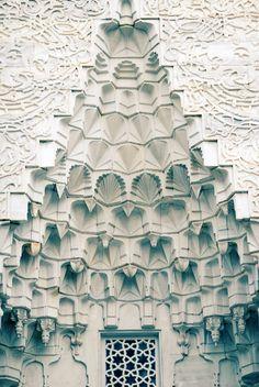 Muqarnas of Green Mosque, Bursa / Sacred Spaces <3