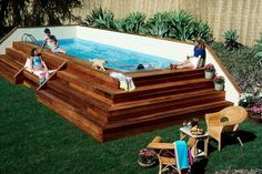 Above Ground Pool Decks More