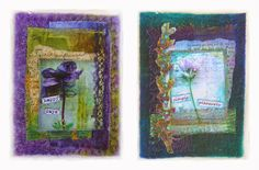 Linda Vincent: mixed-media collage