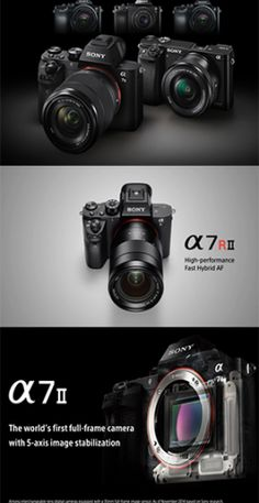 A worldwide leader in digital imaging and the world's largest image sensor manufacturer, Japanese electronics giant, Sony, has announced their new flagship a Sony α7R II. There are many new ground-breaking innovations that may move this camera to be leader of the mirrorless pack. Having something small and powerful It really is a take-everywhere camera that you won't want to leave home without. The list of ingredients in A7RII is impressive which is designed for professional photographers