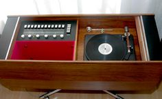 The Clairtone Project G's The Project G T10 features a Garrard Lab 80 Turntable with the interior having the horizontal layout - fewer than 300 of this model were produced.