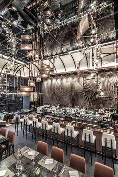 AMMO Restaurant and Bar in Hong Kong by Joyce Wang