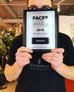Guess who's work won an award? Thanks @facesottawa for the recognition! #yow #ottawa #ottcity #613 #salon #hair #hairsalon #613hair #ottawahair