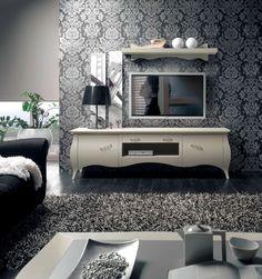 Comoda cu doua usi Sagomati Furniture Collection, Furniture Design, Kitchen Appliances, House Design, Console, Boutique, Home Decor, Heart, Diy Kitchen Appliances