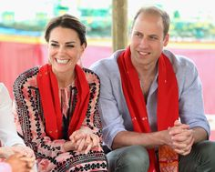 Duke and Duchess of Cambridge visit a village in Kaziranga
