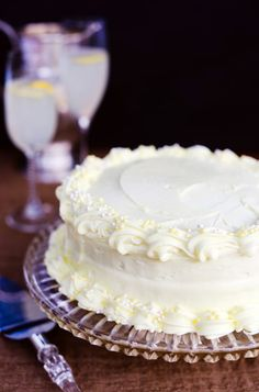 The Best Lemon Buttermilk Cake From Scratch Ever! Great Holiday Cake!