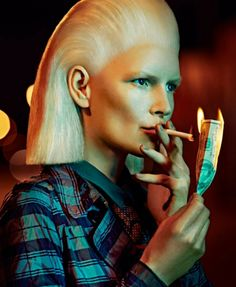 Vogue Italia April 2014 | Kirsten Owen by Francesco Carrozzini