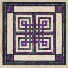 Another Celtic wedding knot quilt