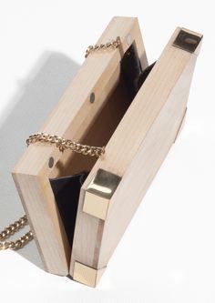 & Other Stories | Wooden Shoulder Bag