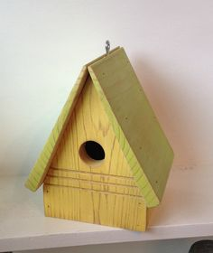 Birdhouse Functional Bird House Rustic Birdhouse by SoilandSawdust