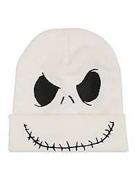 The Nightmare Before Christmas Jack Beanie Hot Topic Christmas Beanie, Christmas Knitting, Cute Beanies, Cute Hats, Accesorios Casual, Embroidered Hats, Nike Fashion, Fashion News, Knit Beanie Hat