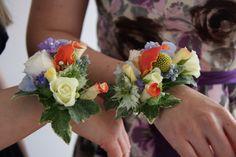 Flower Design Events: Colour Assorted Wrist Corsages