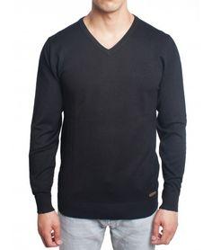 Bonito Sweater Negro Marca Lmental #Hombres #Moda #Sweaters