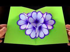 Květinové přání 3D - DIY - YouTube