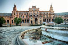 Sevilla. Plaza de España. | Flickr: Intercambio de fotos