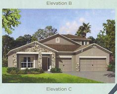 House - we will have stone,but different colors
