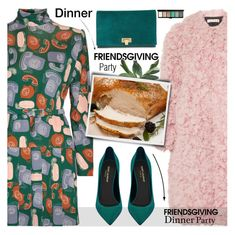"""""""Gather 'Round: Friendsgiving"""" by tinkabella222 ❤ liked on Polyvore featuring Miu Miu, Marni, Yves Saint Laurent, Tory Burch, John Lewis and friendsgiving"""
