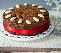 This Christmas cake ensures everyone can have a slice. Free from wheat, gluten, and soya; can be dairy, egg and nut free. Plus no added sugar.