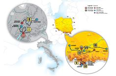 70th Tour de Pologne   On 27 July the special jubilee 70th Tour de Pologne will begin. The start of the third stage of this race and the finish of seventh stage will be located in Cracow.