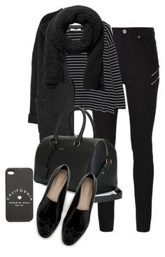 """""""Untitled #1558"""" by beatifuletopshop ❤ liked on Polyvore featuring Yves Saint Laurent, MANGO, Burberry, Zara and Monki"""