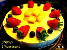 Baking Taitai: Healthy Non-Bake Mango Cheesecake 免烤芒果芝士蛋糕健康食谱 (中英食谱)