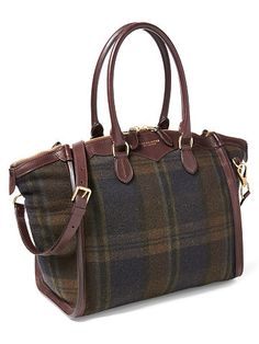 Large Cashmere Traveller Bag - Ralph Lauren Top Handles & Satchels - RalphLauren.com