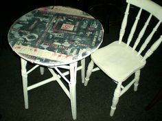 Coffee & Cigarettes Table - £165 SOLD