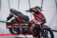 Tem xe Winner 150, Chuyển đổi xe khác và phối màu theo ý khách hàng Liên hệ: CAO SANG DECAL Website: http: //decalcaosang.com