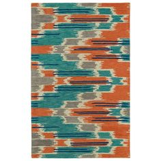 Global Inspiration Multi 5 ft. x 7 ft. 9 in. Area Rug