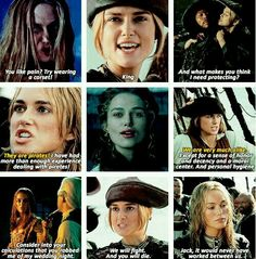 Elizabeth- Pirates of the Caribbean