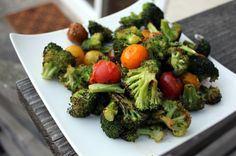 A nice easy veggie side with Mediterranean flavors