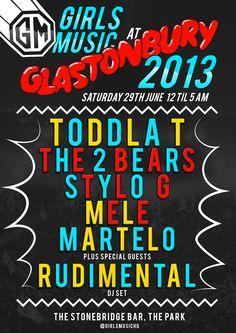 Girls Music at Glastonbury Festival 2013!!