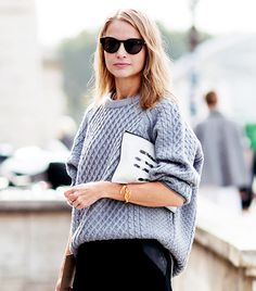 The Gray Sweater // oversized jumpers // cosiness // winter essentials