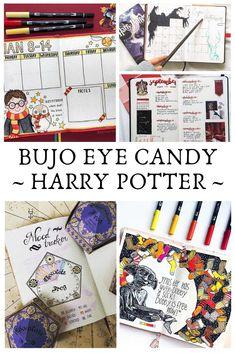 Loving this Harry Potter bullet journal eye candy! So inspirational! Bullet Journal Travel, Bullet Journal Hacks, Bullet Journal Themes, Bullet Journal Layout, Bullet Journal Inspiration, Bullet Journals, Art Journals, Journal Ideas, Printable Planner