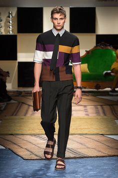 Salvatore Ferragamo Spring 2016 Menswear