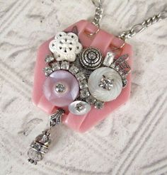 Visions of Spring Repurposed Jewelry