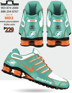Miami Dolphins Custom Pager Chain
