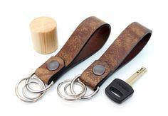 Schlüsselanhänger - Schlüsselanhänger - ein Designerstück von Monti-lederdesign bei DaWanda