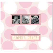K and Company Baby Girl Scrapbook