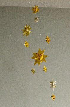 planning nursery design --starry mobile
