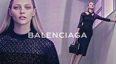 Sasha Pivovarova by Steven Klein for Balenciaga Spring Summer 2015